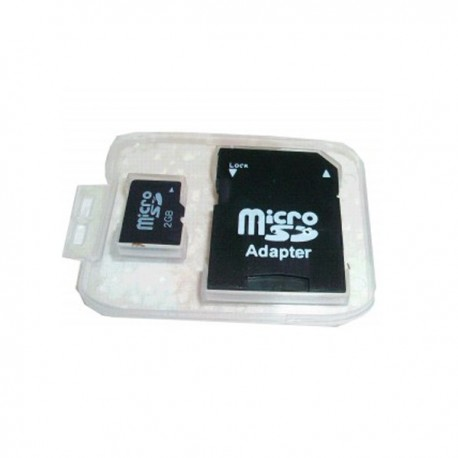 Micro SD Card 2 Go