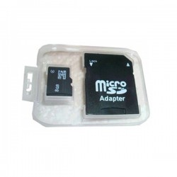 Micro SD Card 8 Go