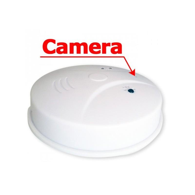 faux d tecteur de fum e camera espion invisible 4go espion. Black Bedroom Furniture Sets. Home Design Ideas