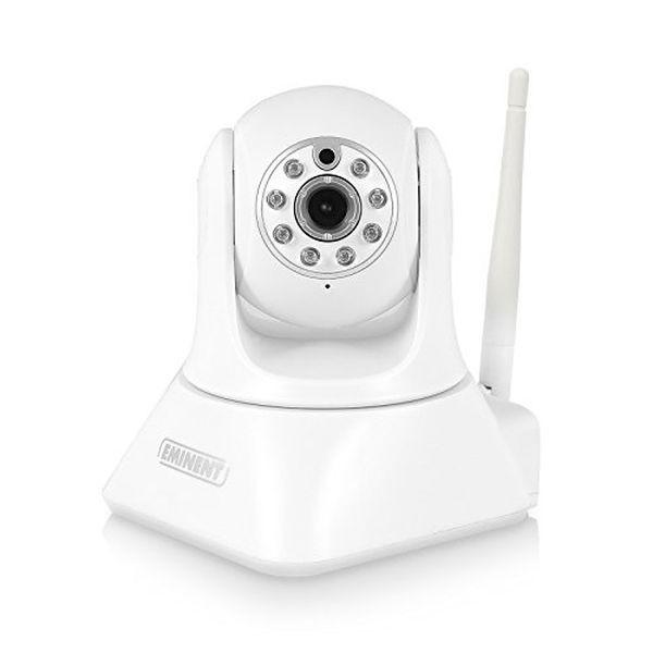 Caméra IP 720p détecteur de mouvement à vision de nuit Wifi