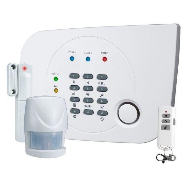 Alarme sans fil avec transmetteur téléphonique intégré