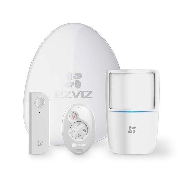 Alarme à capteur de mouvement et détecteur d'ouverture de porte