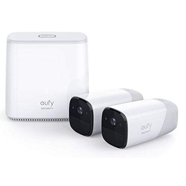 Caméras de surveillance IP sans fil intérieur et extérieur autonomie de 365 jours