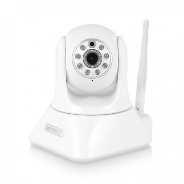 Caméra de surveillance IP 1080p rotative vision nocturne Wifi iOS et Android