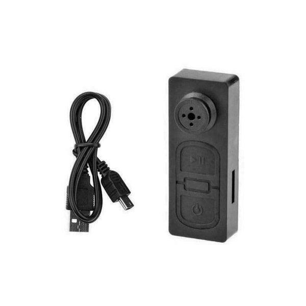 Bouton à camera espion HD 480P avec microphone