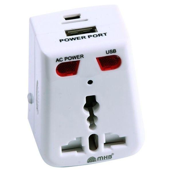Prise adaptateur avec camera espion et détecteur de mouvement