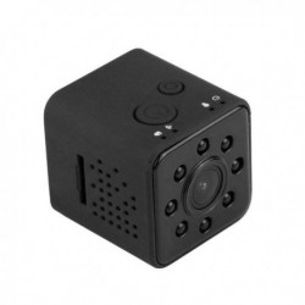 Caméra miniature WiFi 10m vision infrarouge avec étui Waterproof
