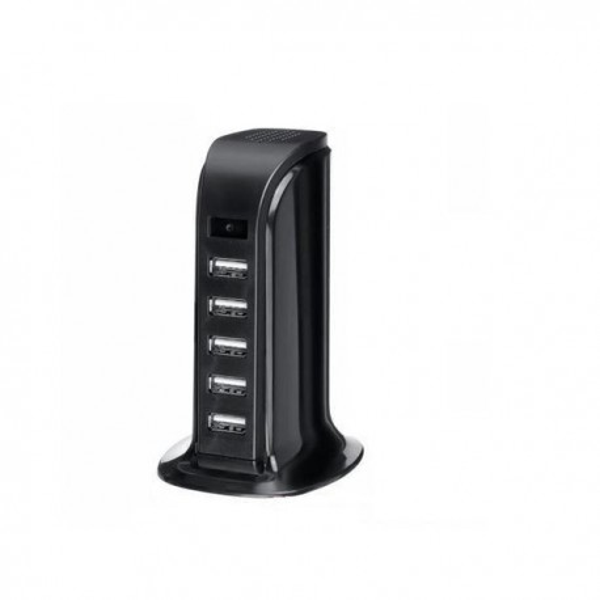 Chargeur USB 5 ports camera espion 1080P vision de nuit