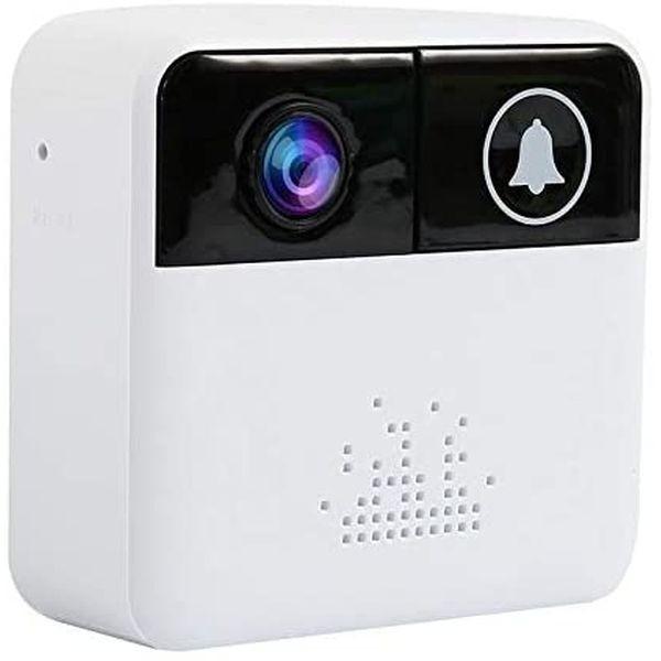 Sonnette avec interphone camera wifi IP avec audio via smartphone