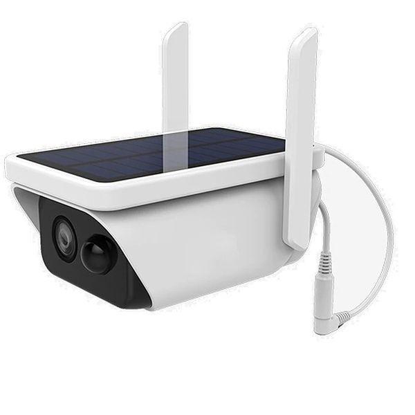 Camera de surveillance Wifi et IP Waterproof avec panneau solaire sans fil