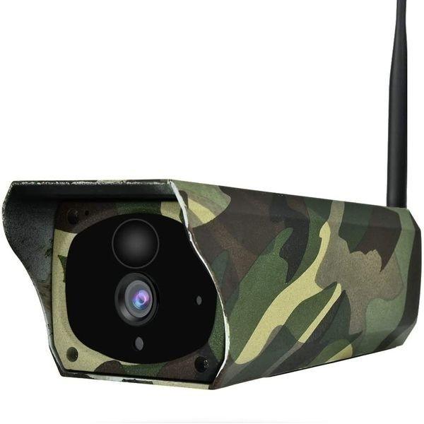 Camera de surveillance étanche solaire Wifi et IP camouflage infrarouge