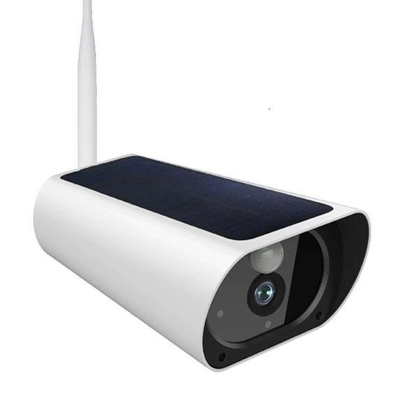 Camera de surveillance Waterproof avec panneau solaire Wifi et IP X4 Zoom