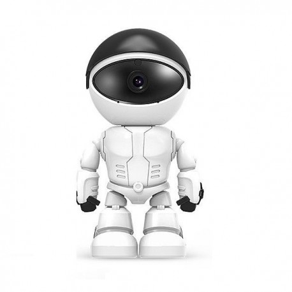 Robot intelligent avec camera de surveillance wifi IP 1080P infrarouge