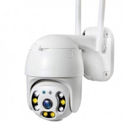 Camera Rotative de surveillance IP et Wifi 1080P vision de nuit audio bidirectionnel 355°