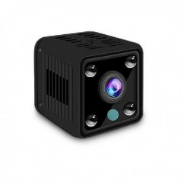Micro caméra 1080P IP WIFI à vision nocturne et microphone intégré