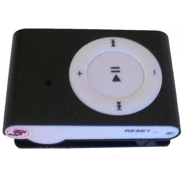 Lecteur MP3 avec caméra espion cachée noir