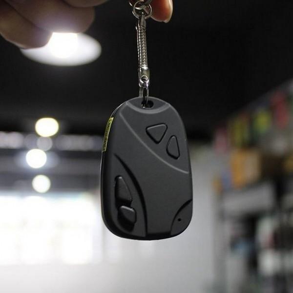 Porte-clés camera espion
