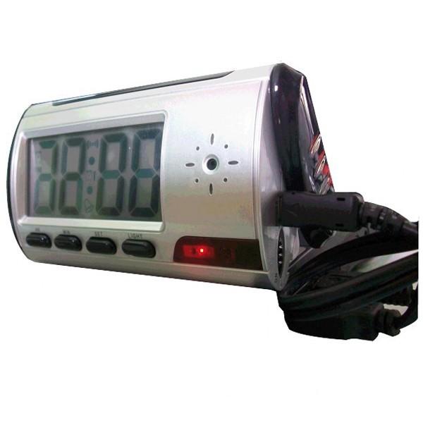 Réveil caméra espion option détection de mouvement