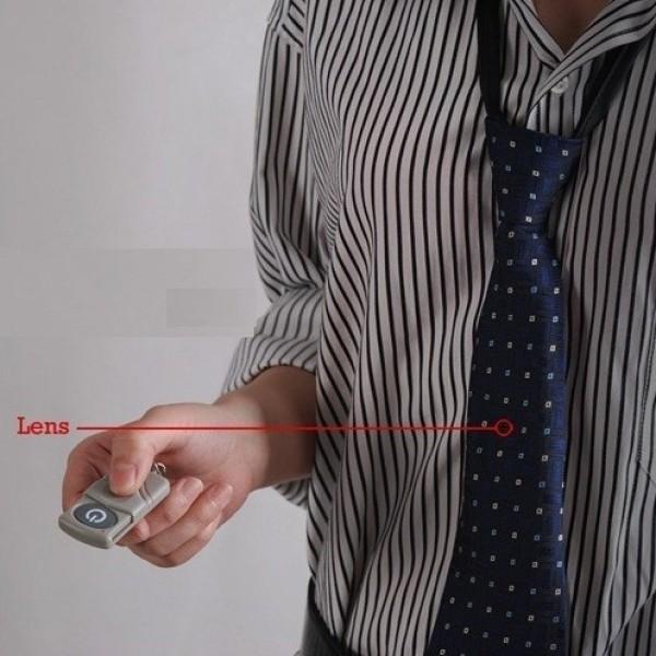 Cravate caméra espion 4 Go