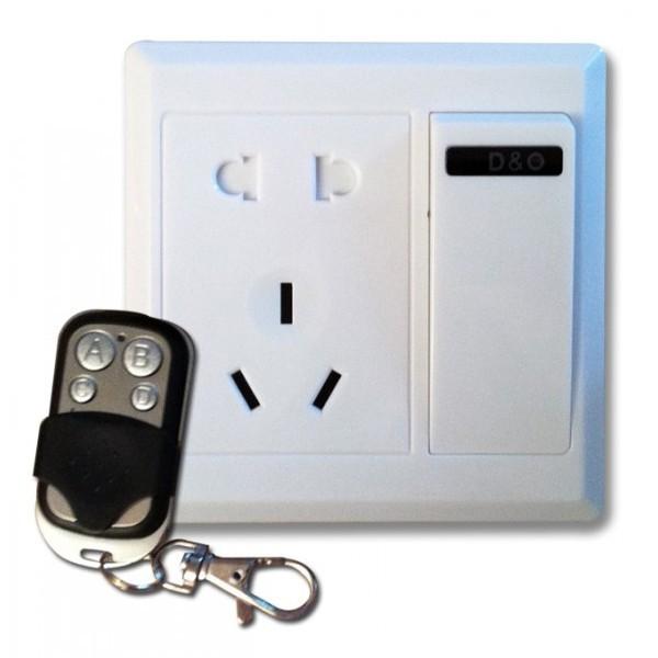 Interrupteur - Prise camera espion télécommandée