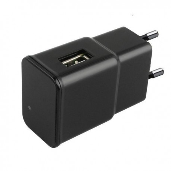 Chargeur USB à caméra espion intégrée 1080P IP WIFI détecteur de mouvement