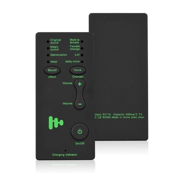 Modificateur de voix pour Smartphone 8 différentes voix