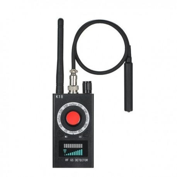 Détecteur de caméra, de tracker GPS, mouchard et de micro dissimulés