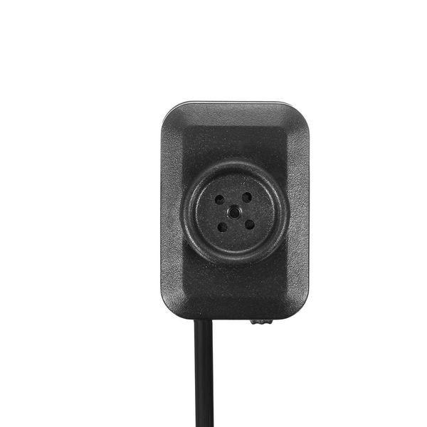 Bouton de chemise à caméra espion HD 1080P avec câble USB