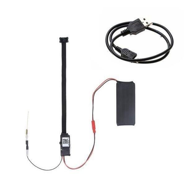 Module caméra Full HD 4K WIFI IP à vision à infrarouge et détection de mouvement
