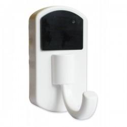 Porte-manteau camera espion blanc