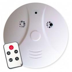 Faux détecteur de fumée camera espion invisible 4GO