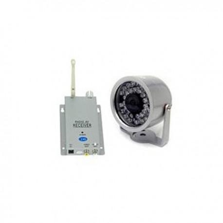 Caméra de sécurité sans fil avec récepteur