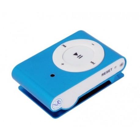 Lecteur MP3 avec caméra espion cachée bleu