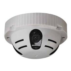 Caméra surveillance sécurité dans détecteur de fumée factice