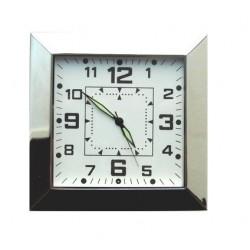 Horloge caméra espion carrée avec détection de mouvement