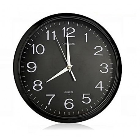 Horloge murale télécommandée camera espion 4Go