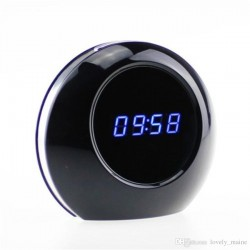 Réveil matin camera espion en forme de boule