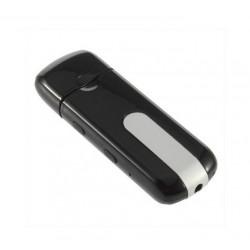 Clé USB camera espion grise et noire