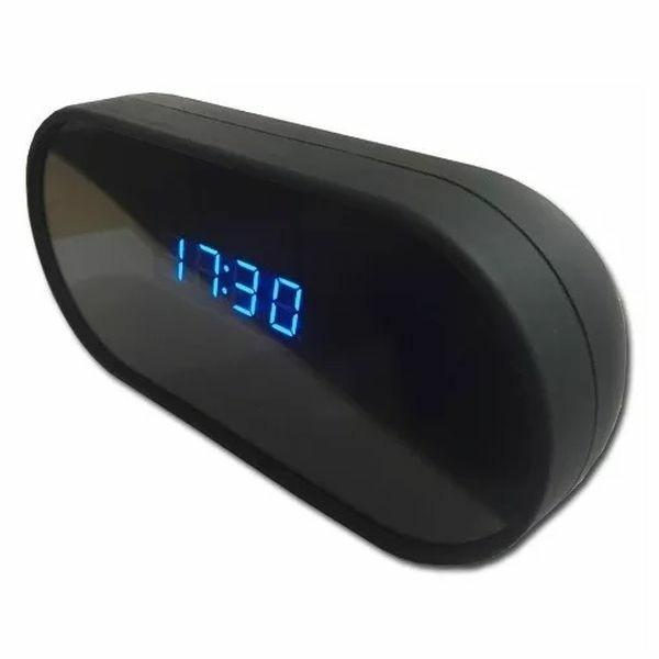 Réveil camera espion Full HD 1080P Wifi vision de nuit